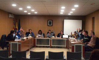 Foios aprueba rebajar la presión fiscal a los vecinos en 32.000 euros