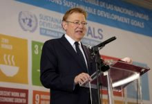 """Puig: La Comunitat Valenciana """"se situa absolutament alineada"""" amb els objectius de desenvolupament sostenible (ODS)"""