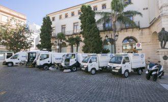 FCC invierte un millón de euros para mejorar los vehículos de limpieza de Gandia