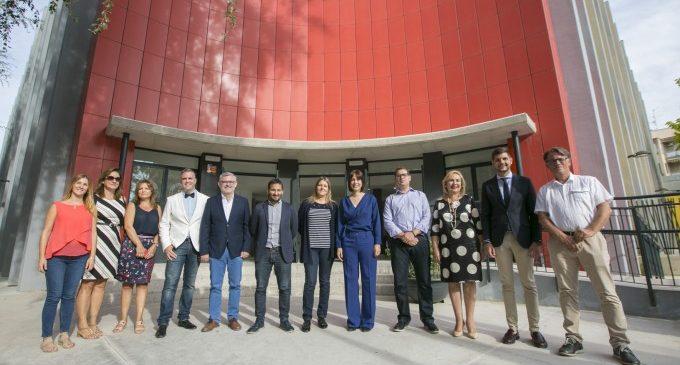 Marzà visita el CEIP Cervantes i l'IES Veles e Vents de Gandia