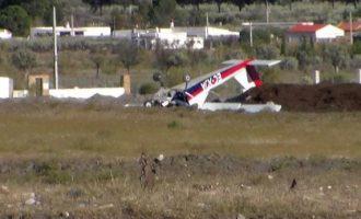 Dues persones resulten ferides en estavellar-se una avioneta d'esbarjo a Chulilla