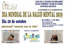 Fem Salut Mental Burjassot convida a participar en el Dia de la Salut Mental