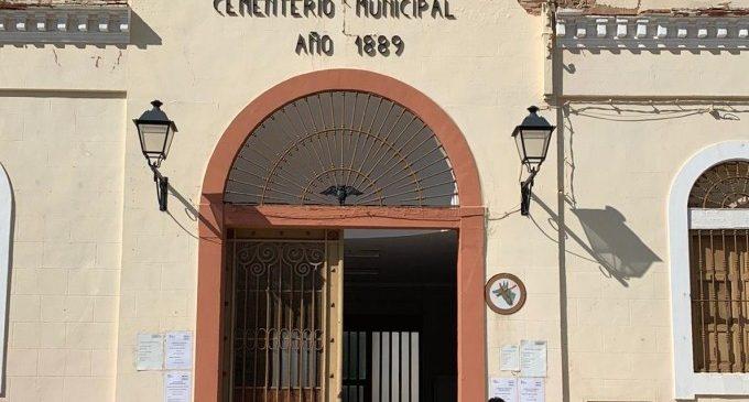 Mejoras en el cementerio municipal de Catarroja