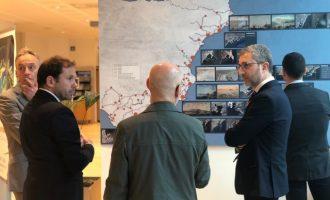 Arcadi España reivindica el Corredor Mediterrani com a porta d'accés a Europa