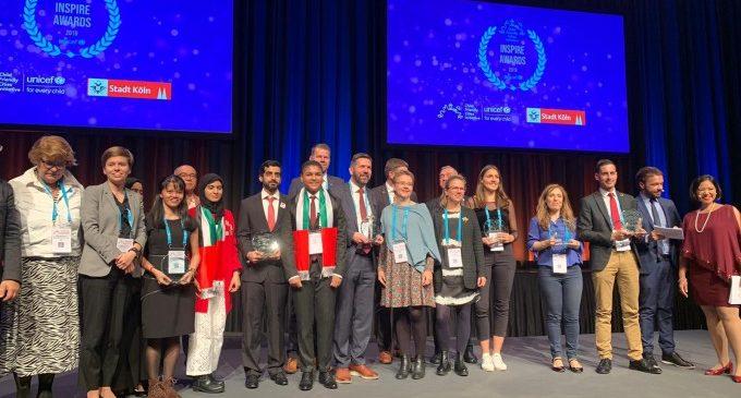 Mislata guanya el premi internacional 'CFCI Inspire Awards' d'UNICEF