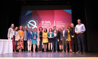 Quart de Poblet atorga sis guardons en la gala Premis Q
