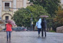 Aemet decreta alerta taronja a València i Castelló per fortes pluges i tempestes