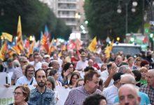 Les manifestacions i concentracions del 9 d'Octubre de València 2020