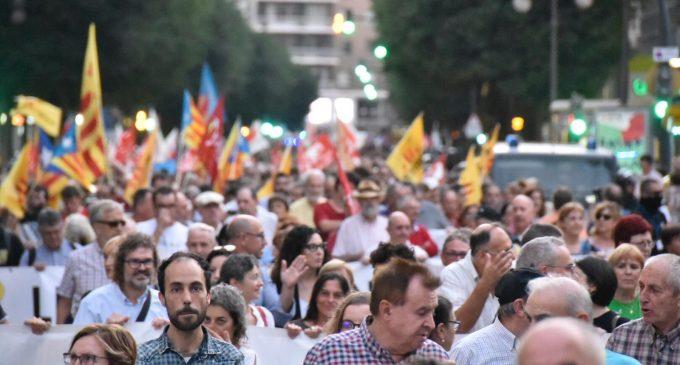 """La Comissió 9 d'Octubre convoca una """"concentració simbòlica"""" baix el lema """"drets, autogovern i llengua"""""""