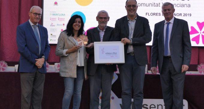 Alboraia premiada en la II Gala de Viles en Flor Comunitat Valenciana