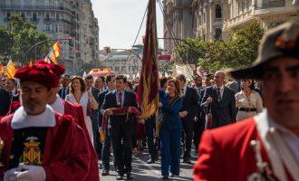 Suspesos els actes tradicionals del 9 d'Octubre