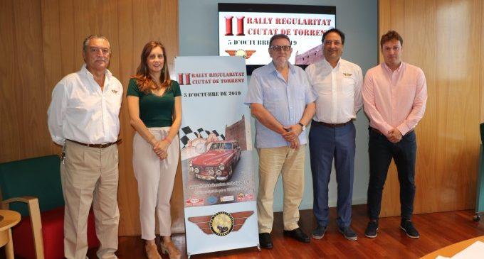 El II Ral·li de Regularitat per a Vehicles Clàssics omplirà Torrent de cotxes amb història