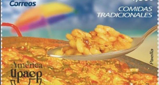 Correus emet un segell dedicat a la paella