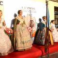Les falles de Torrent realitzen el seu tradicional homenatge a la Senyera