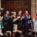 """Los premiados, """"orgullosos"""", defienden el papel de la lengua e identidad valenciana"""