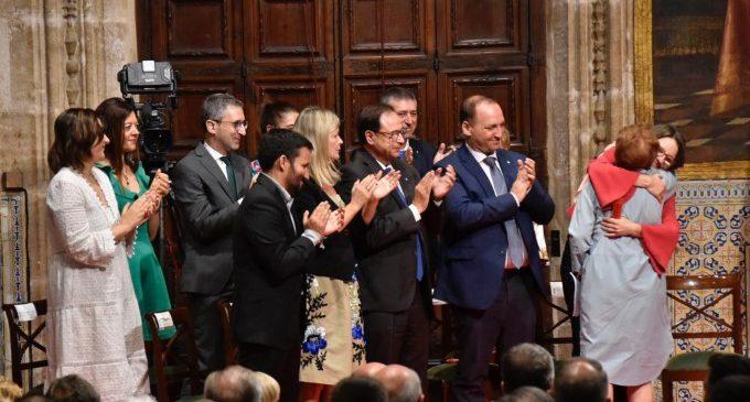 """Els premiats, """"orgullosos"""", defensen el paper de la llengua i identitat valenciana"""