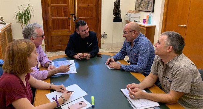 Xavi Rius visita Catarroja per a ultimar els detalls del futur Museu d'Etnologia