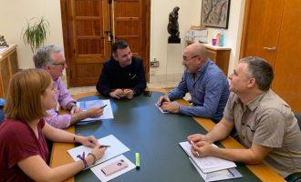 El diputat de Cultura de la Diputació de València visita Catarroja pel futur Museu de l'Etnologia