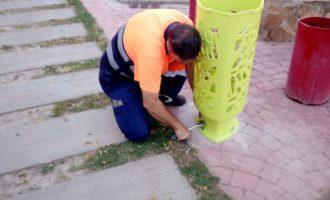 Alfafar realitza diferents millores en la via i els espais públics