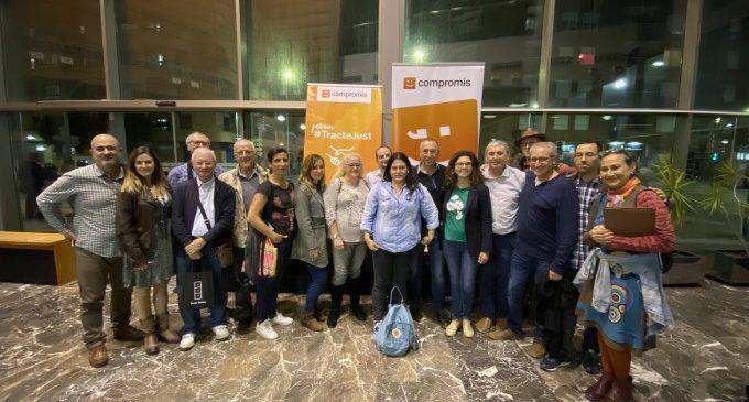 Baldoví reivindica a Paiporta la necessitat de Compromís al Congrés per defensar els interessos dels valencians
