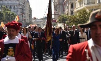 La Processó Cívica de València en imatges
