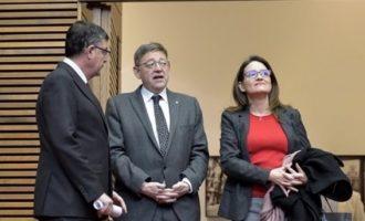 Puig va ingressar més de 82.400 euros en 2018, Oltra 66.250 i Morera quasi 93.200