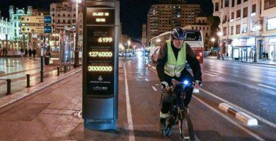 3 milions d'usuaris en el carril bici del carrer Xàtiva