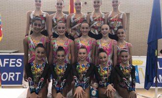 ElCEGAd'Almussafes destaca en els campionats de gimnàstica rítmica