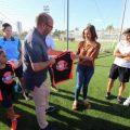Els nous camps de fútbol de Parc Central de Torrent acullen el Clínic Valenta de Futbol Femení