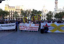 Concentració a València per la sentència del 'procés':