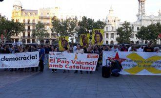El Botànic defensa l'assistència personal a manifestacions