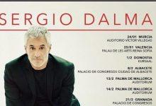 Sergio Dalma visitarà València i Alacant en la gira de celebració dels seus 30 anys