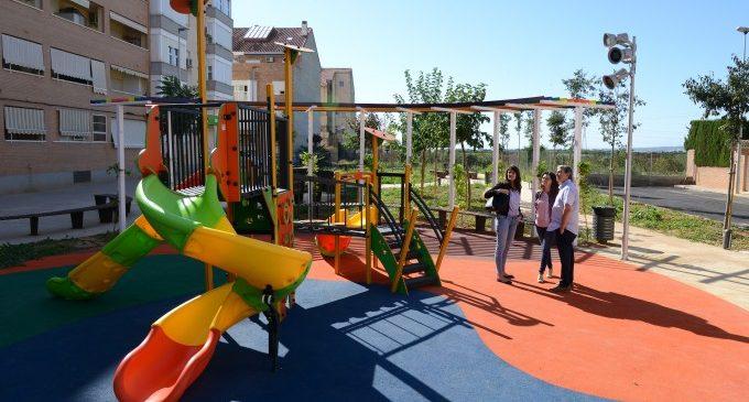 Paiporta obri al públic la nova zona verda del carrer Sant Ramon