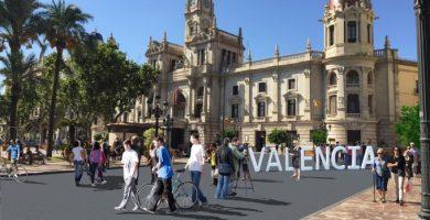 21.000 metres quadrats d'espai per als vianants en el centre de València