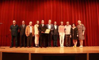 La Societat Joventut Musical de Albal recibe el Premio Honorífico Poble d'Albal