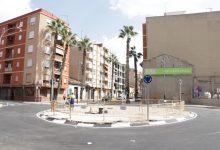 Finaliza la construcción de la nueva rotonda de Quatre Camins de Torrent