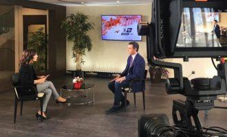 """Sánchez espera que el Ministeri d'Hisenda realitze les entregues a compte """"en qüestió de setmanes"""""""