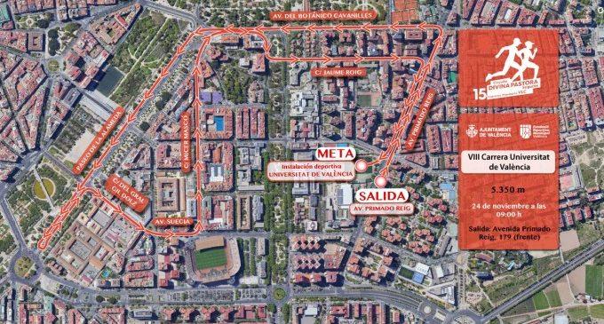 La ciutat acull la Carrera Universitat de València