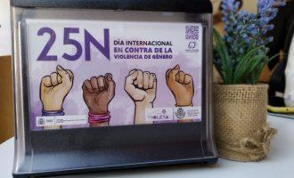 Manises plena l'agenda amb motiu del Dia Internacional contra la Violència de Gènere