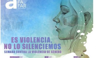 Alfafar se suma al Dia de l'Eliminació de la Violència contra la Dona