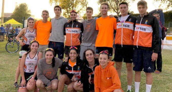 El club Tripuçol logra la permanencia en la élite del triatlón español