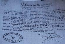 Una família troba l'acta fundacional del PSPV de Riba-roja de març de 1936