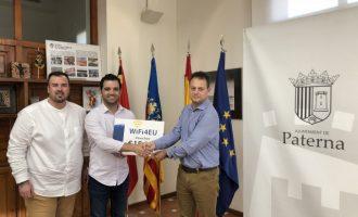Paterna rep 15.000 euros d'Europa per a ampliar la xarxa Wifi municipal