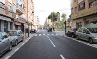 L'Ajuntament de Torrent reobri la millora del carrer Camí Reial