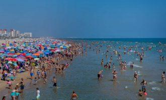 Gandia tanca les seues platges per a evitar la propagació del coronavirus