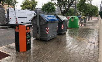 Paterna podrà reciclar fins a 20.160 litres d'oli mensuals amb la renovació de contenidors