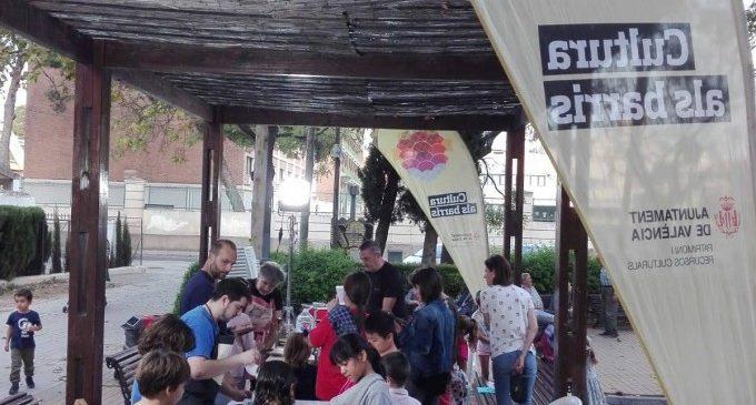 La cultura s'acosta a 15 barris de València