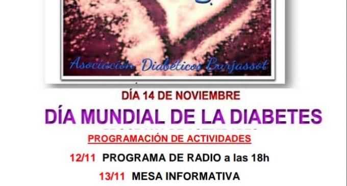 Burjassot celebra el Dia Mundial de la Diabetis amb diferents activitats