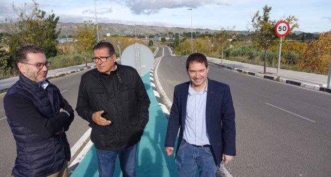 Ontinyent dota d'enllumenat el Pont de Sant Vicent