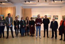 Inauguración de la exposición de los alumnos de la Escuela de Artesanos de Valencia